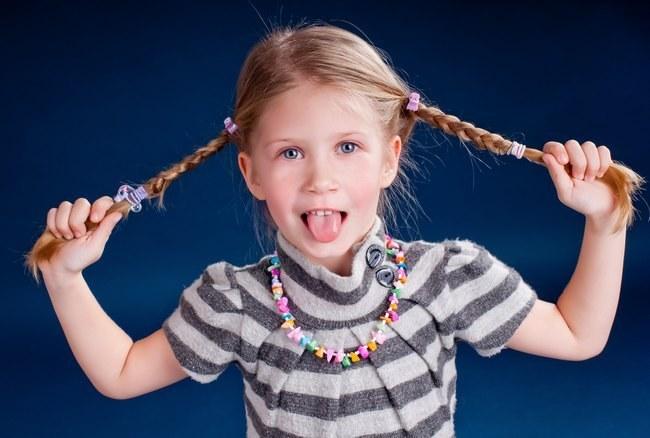 Как заплести волосы ребенку