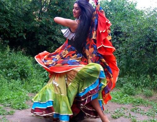 Как сделать костюм цыганки