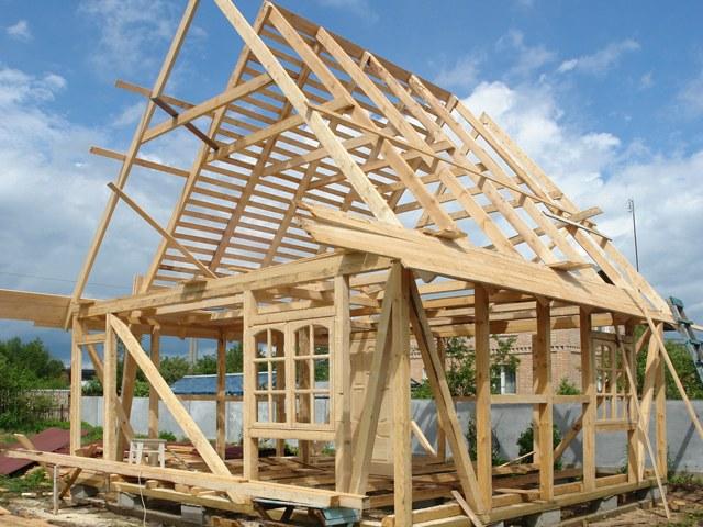 Как сделать каркас крыши