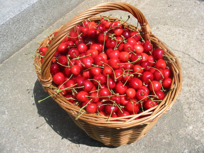 How to dry cherries