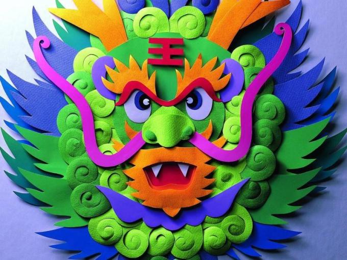Как сделать своими руками китайского дракона
