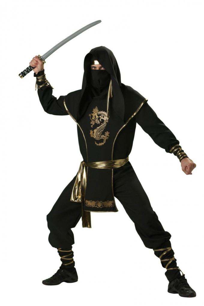 Как сделать костюм воина ниндзя