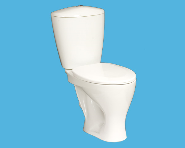 How to seal a crack in toilet