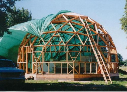 How to make a dome