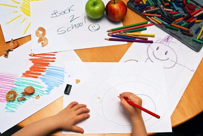 Рисунок детям по рисованию
