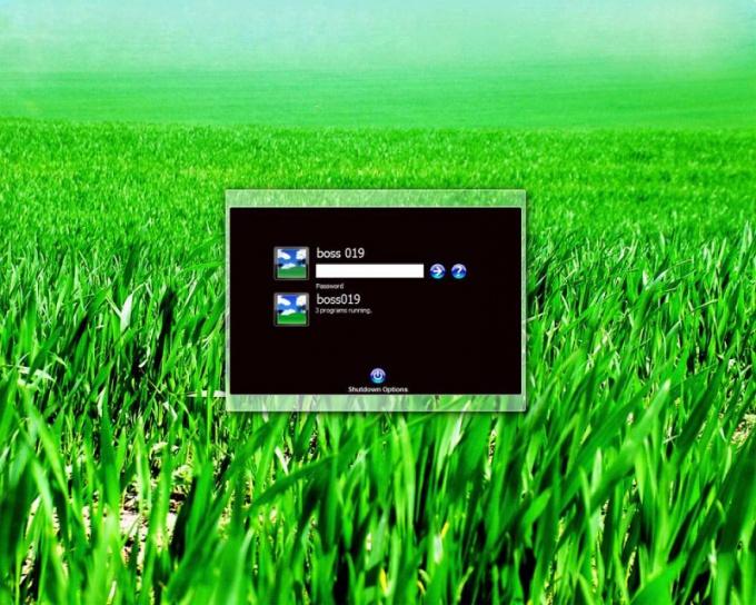 Как отключить приветствие в Windows XP