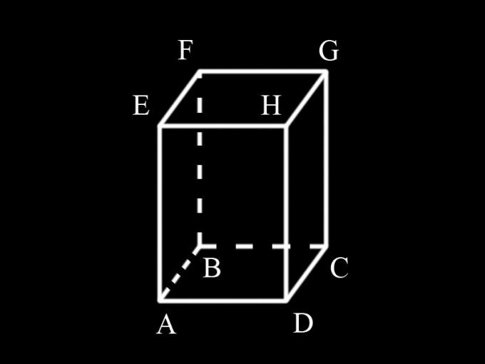 Как найти площадь прямоугольной призмы