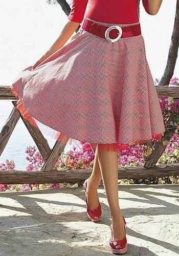 Как сшить юбку-солнце