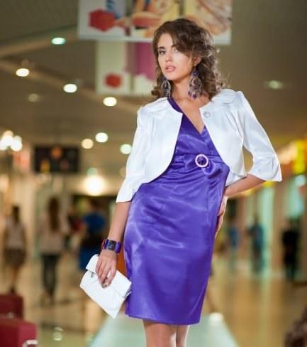 Как сшить атласное платье