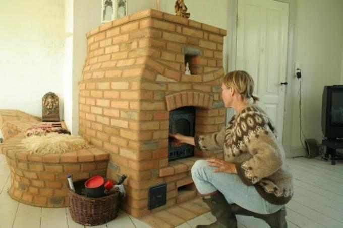 Как построить печку на даче