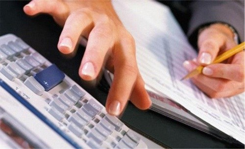 How to reflect interest on income tax
