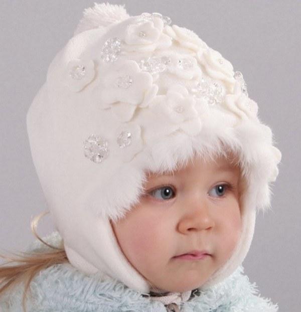 Как сшить детскую меховую шапку