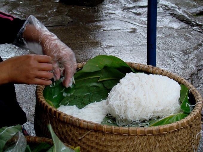 Как варить рисовую вермишель