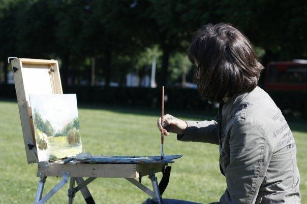 Как нарисовать лёгкий пейзаж