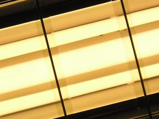Как заменить лампу дневного света