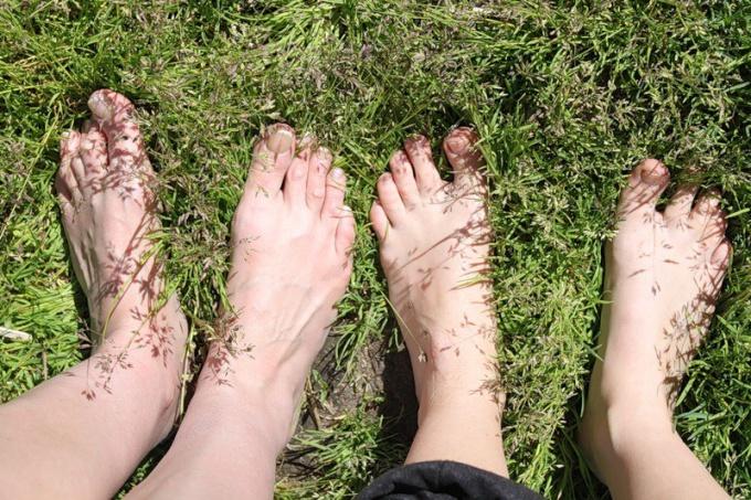 Как закалять ноги