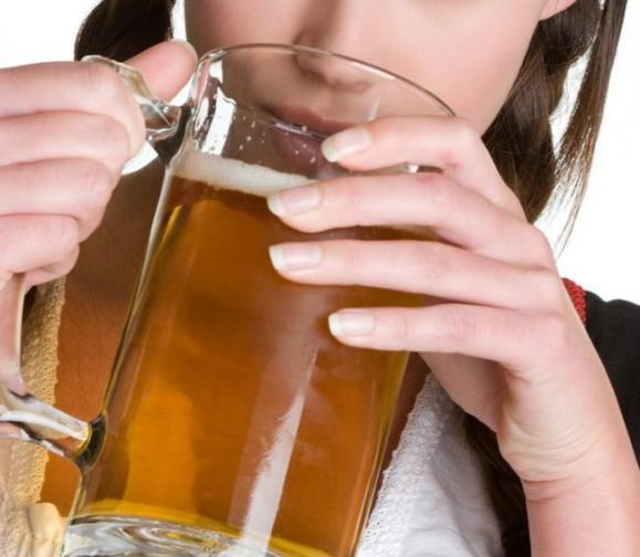 How beer affects the female body