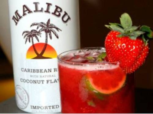 "How to drink rum ""Malibu"""