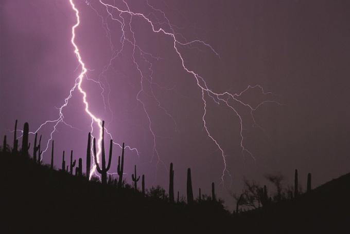 Почему сверкает молния