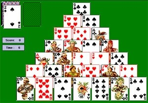 How to put card solitaire