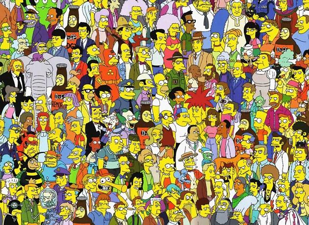 """Как рисовать персонажей """"Симпсонов"""""""
