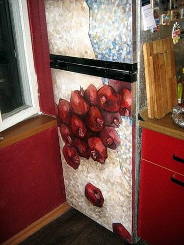 Как расписать холодильник