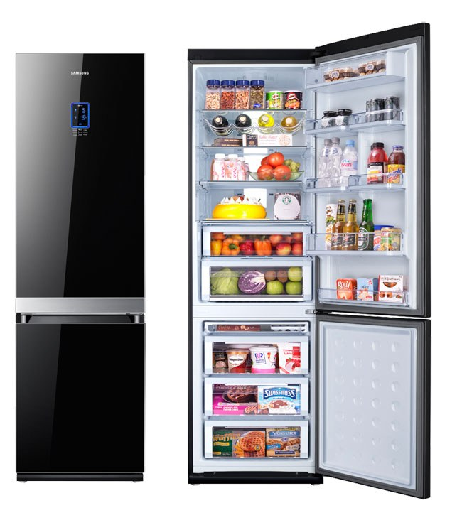 How to rearrange the refrigerator door
