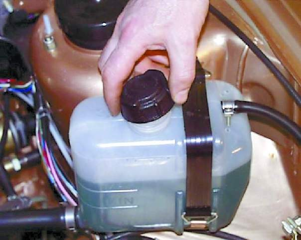 How to check the radiator cap