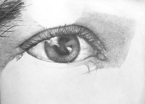 Как сделать рисунок глаз