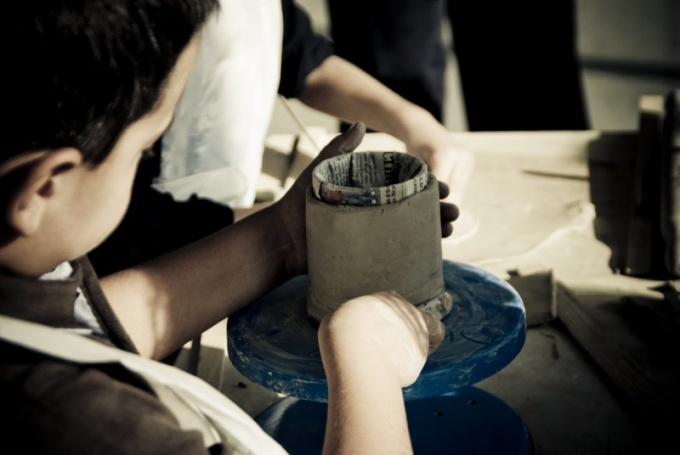 How to dry clay