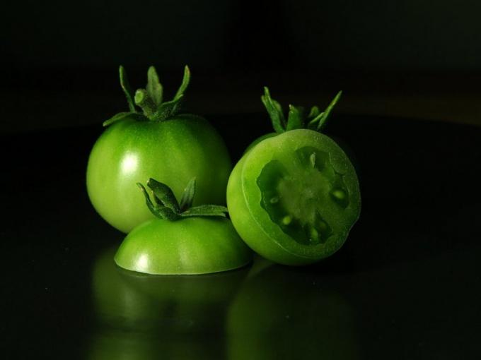 Как приготовить зеленую икру из томатов