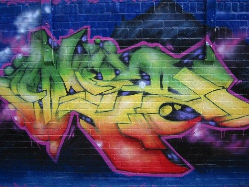 How to write your name in graffiti