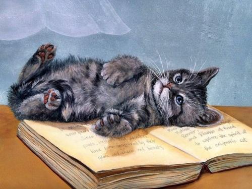Как нарисовать глаза котенка