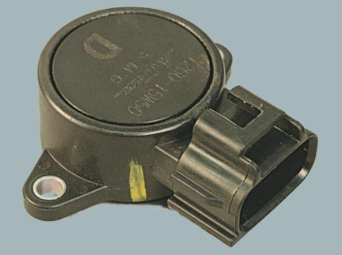 How to adjust the throttle position sensor