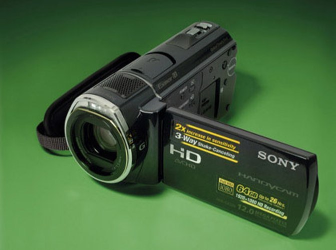 How to set up the video camera Sony