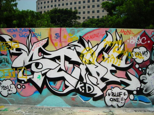 How to learn to do graffiti drawings