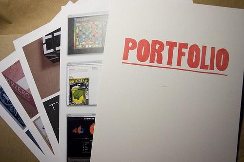 How to compile a portfolio