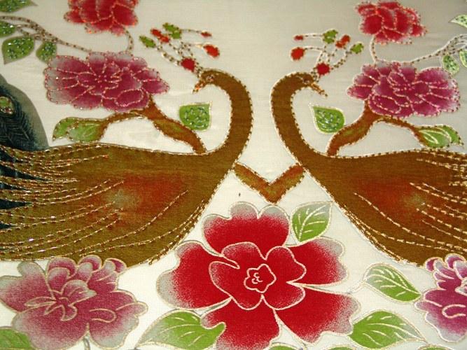 Как сделать вышивку бисером и стеклярусом