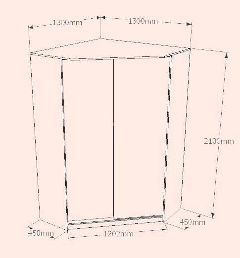 Как сделать угловой шкаф-купе
