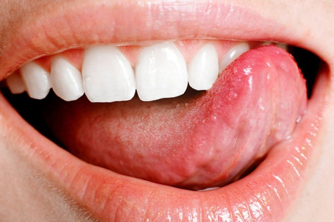 Why numb the tip of the tongue