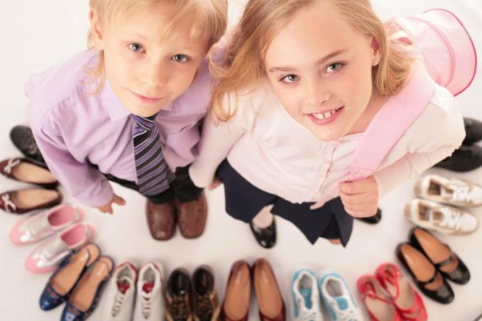Как подобрать удобную обувь для ребенка