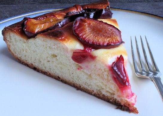 Как приготовить сливовый пирог