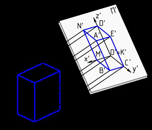 Как рисовать аксонометрию
