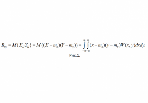 Как рассчитать коэффициент корреляции