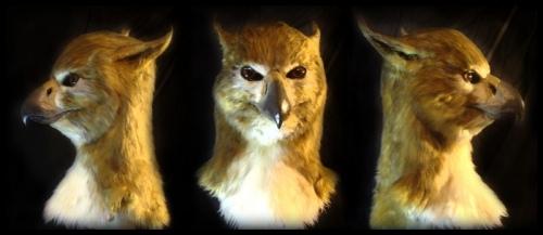 Как сделать маску птицы