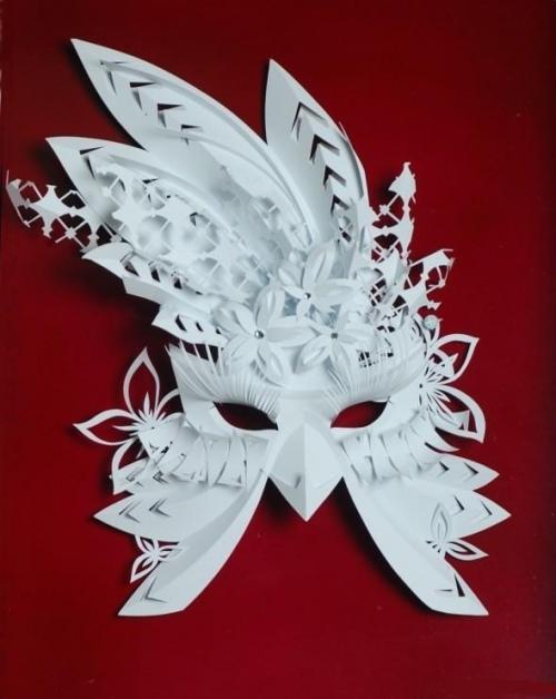 Как делать маски из бумаги