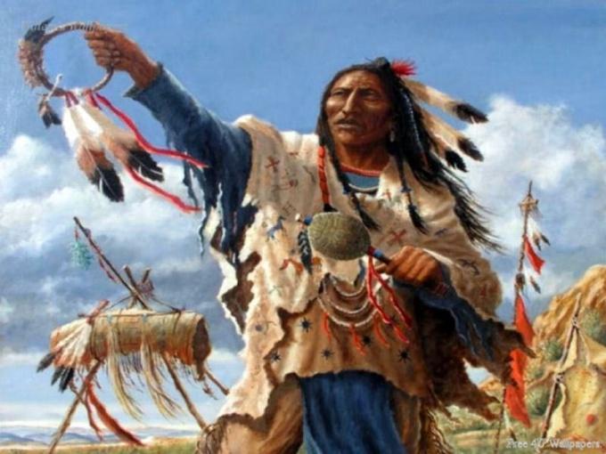 Как нарисовать индейца