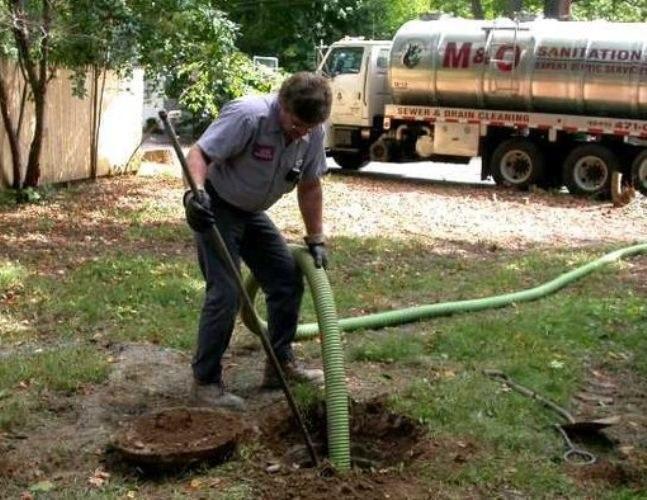 Как очистить сливную яму