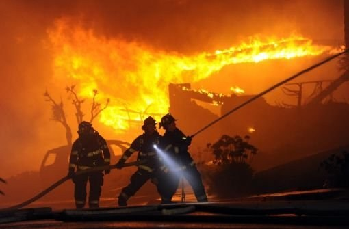 Как выжить в пожаре