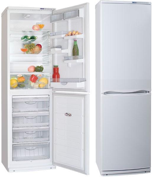 Как перевесить дверь холодильника атлант